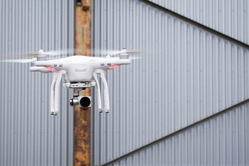 Quadcopter, Dji, Aerial, Drone, Camera, Technology