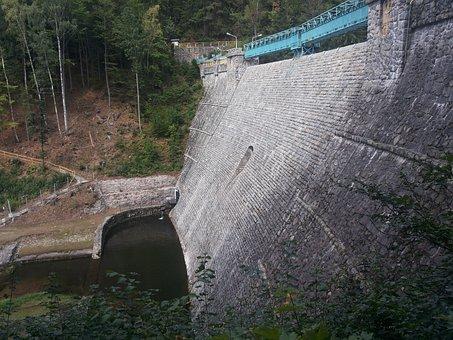 Menjugate, The Firewall, Water, Tama, Sudetes, Dam