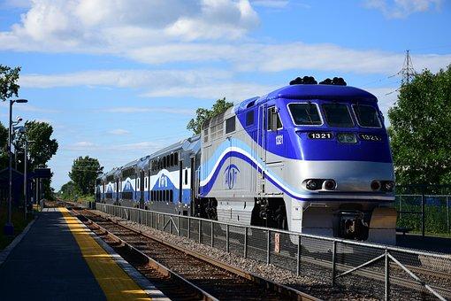 Train, Railroad, Railway, Transport, Transportation