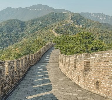 The Chinese Wall, China, Wall In China, Architecture