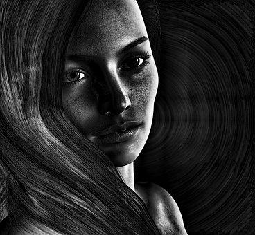 Girl, Woman, Psychology, Abuse, Home, Violent