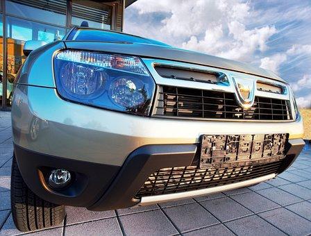 Auto, Dacia, Autohaus, Suv, Spotlight