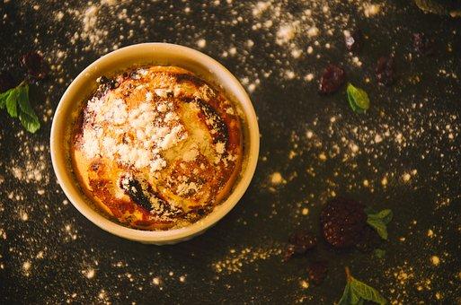 Blackberries, Blur, Bowl, Cake, Close-up, Delicious