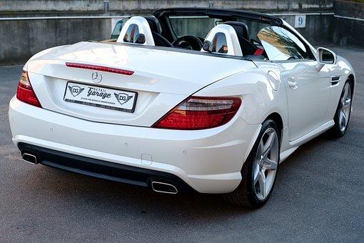 Car, Mercedes, Slk, Auto, Transport, Design