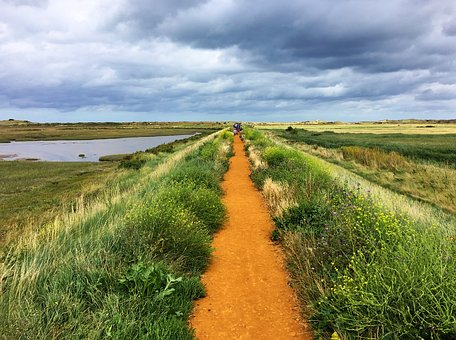 Coast Path, Marshes, Norfolk