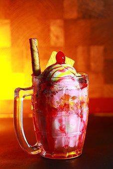Icecream, Snow, Cold, Sweet, Dessert, Fresh, Cream
