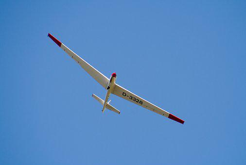 Glider Pilot, Aircraft, Airport, Glider, Air Sports