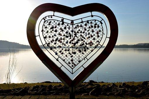 Architecture, Love, Heart, Love Castle, Lakeside, Wide