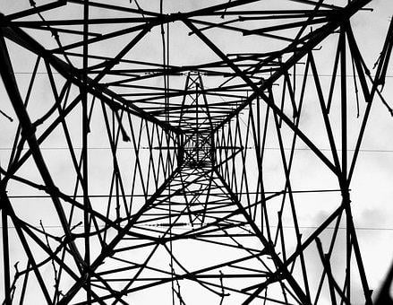 Steel, Więża, Current, Energy, Lines, Metal, Power Line