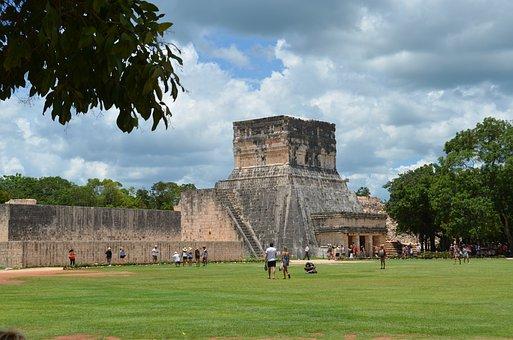 Mayan, Mexico, Pyramid