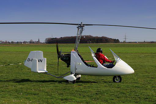 Medikopter, Aircraft, Start, Rotor, Newcomer, Fly