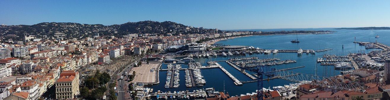 Cannes, Côte D'azur, Overview, Sea, Porto
