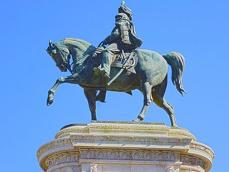 Monument, Rome, Old, Statue, Sculpture, Victor Manuel
