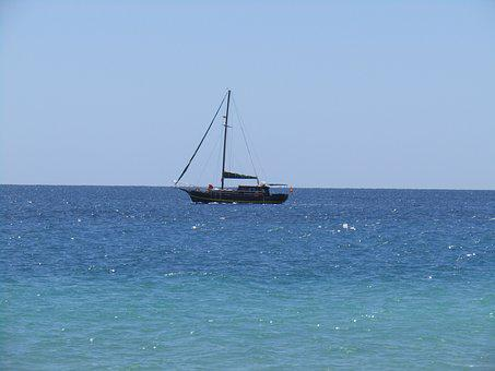 Sailing Boat, Fuerteventura, Canary Islands, Boats
