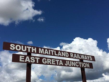 Australia, Clouds, Railway, Railway Romance, Sky