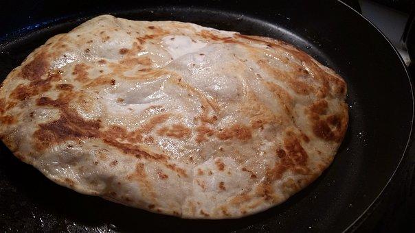 Bread, Tortilla, Pan, Cooking, Food