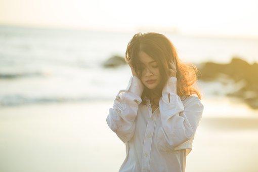 Sad, Scrabble, Reverse Sun, Alone, Woman, Daughter