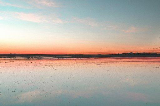 Desert, Salar Uyuni, South, America, Andes, Salt