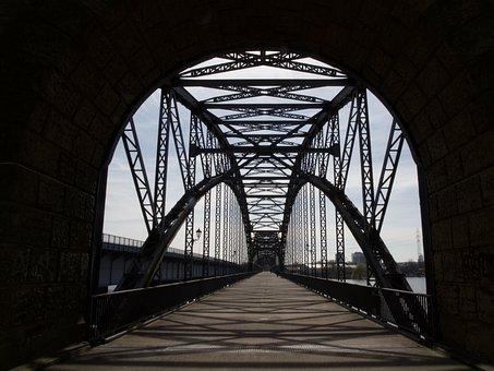 Hamburg, Bridge, Harburger-bridge, Architecture, Elbe