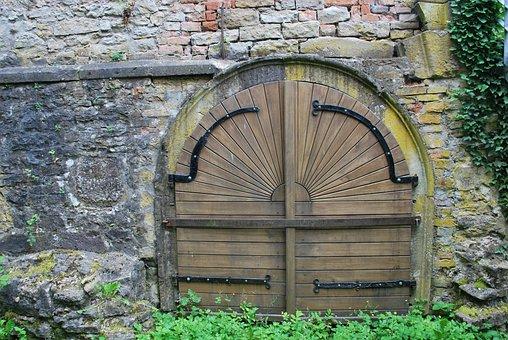 Old, Architecture, Castle, Ruin, Door, Europe, Germany