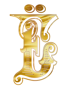 Yo, Letters, Alphabet, Russian, Johndoe, The Word, Gold