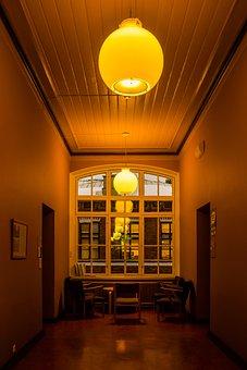 Hallway, Corridor, Indoor, Interior, Building, Design