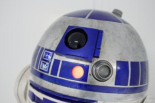 Star Wars, Movies, Log Support, R2d2