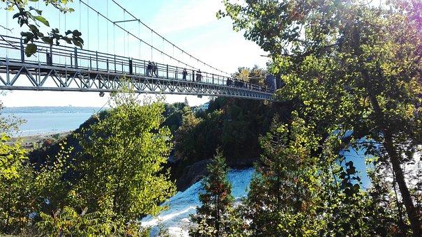 Canada, Cascade, Falls, Montmorency, Nature, Quebec