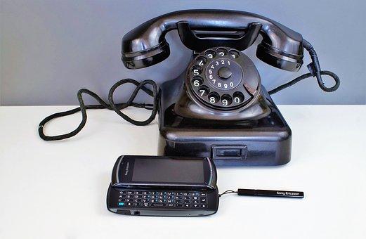 Phone, Mobile Phone, Bakelite, Dial, Communication