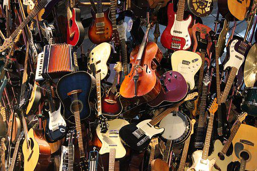 Guitars, Tower, Seattle, Instruments, Electric Guitars