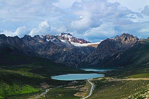 Sister Lake, Tibet, Sichuan-tibet Line, Lake