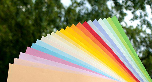 Paper, Colorful, Subjects, Color, Copy Paper, Rainbow
