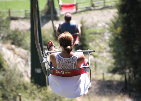 Chairlift, Mountains, Ski Lift, Alpine, Summer