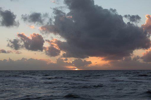 New Zealand, Cloud, Sunset