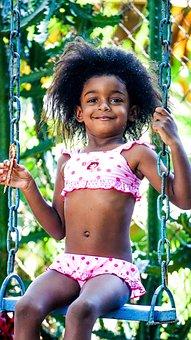Child, Swing, Playground, Play, Children