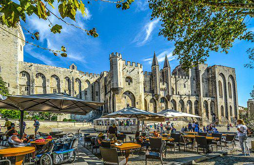 Castle, Travel, Tourist, Tourism, Avignon, Provence
