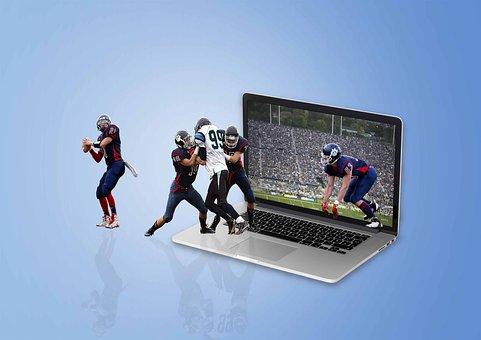 American Football, Us Players, Usa, Player