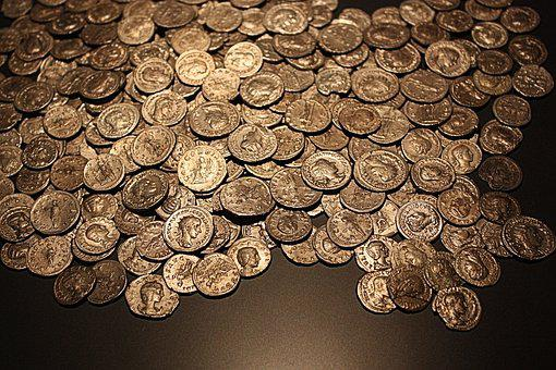 Coins, Old, Roman, Gold Coins, Antique, Sesterces