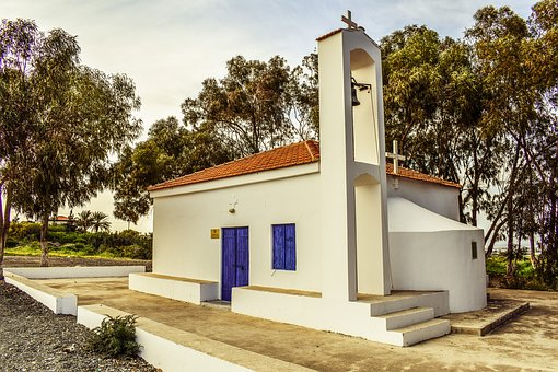 Cyprus, Paralimni, Church, Orthodox, Ayios Mamas