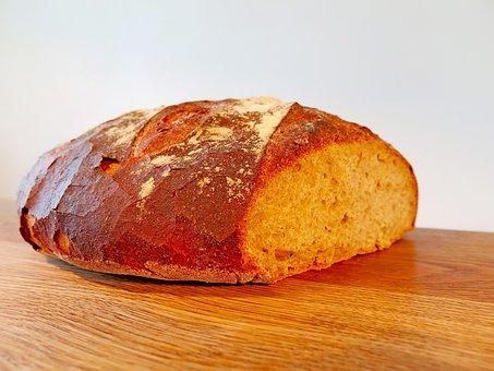 Bread, Food, Brown, Baked Goods, Bake, Crispy, Frisch