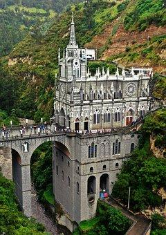 Las Lajas, Colombia, The Sanctuary, Bridge, Church