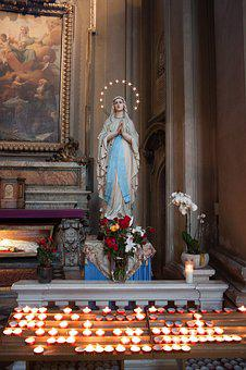 Madonna, Maria, Church, Mother Of God, Christianity