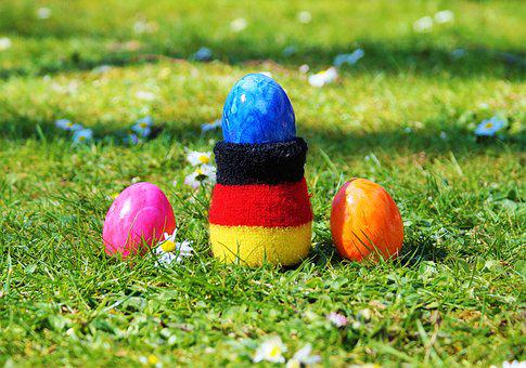 Easter Egg, German, German Colors, Germany, Eggs Warmer