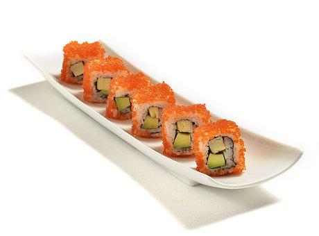 California Roll, California Maki, Maki, Fish, Food
