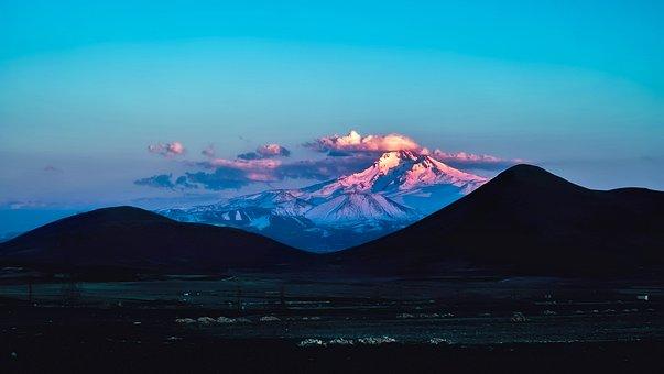Mount Erciyes, Turkey, Glacier, Mountains, Landscape