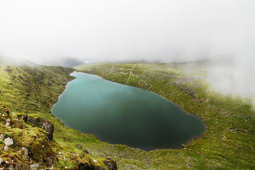 Bergsee, Lake, Pools, Pond, Ireland, Nature, Landscape