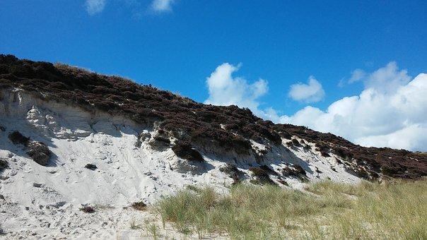 Dunes, Sylt, Watts, Coast, Landscape, Island