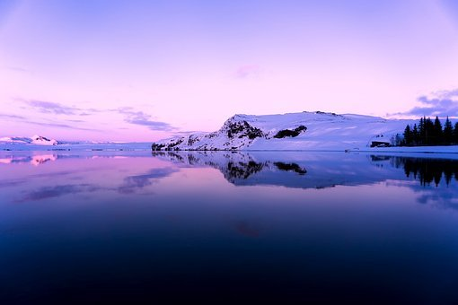 Iceland, Mountains, Lake, River, Water, Reflections