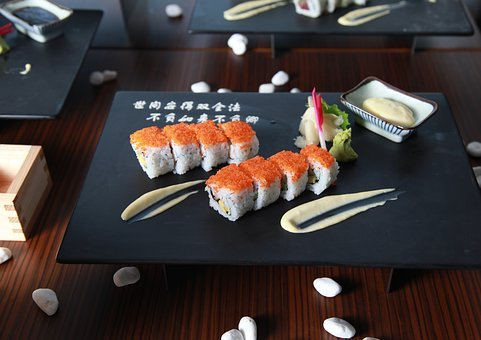 Maki Roll, Sushi, J, Japanese, Healthy, Japan, Meal