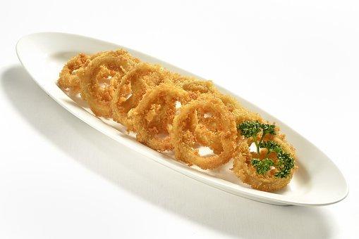 Onion Rings, Fast Food, Deep Fried, Food, Onion, Fast